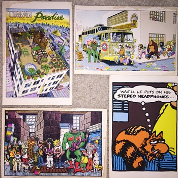 Gilbert Shelton postcards - Postcards