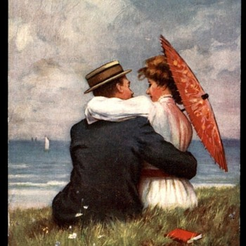 Just Purchased Beautiful Romantic Postcard,Published by Tucks, with Wonderful art! - Postcards