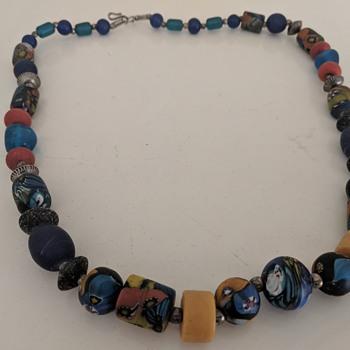 Murano necklace - Costume Jewelry