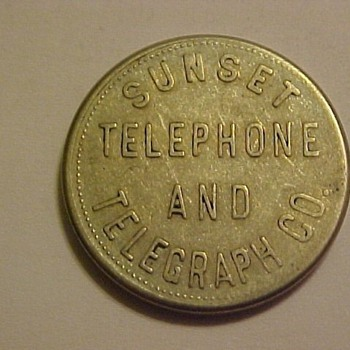 Telephone Token or Test Coins
