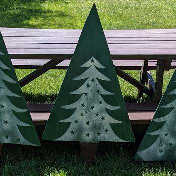 Vintage Christmas decorations. - Christmas