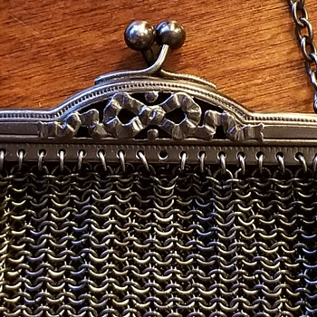 Vintage Chatelaine mesh coin purse - Bags