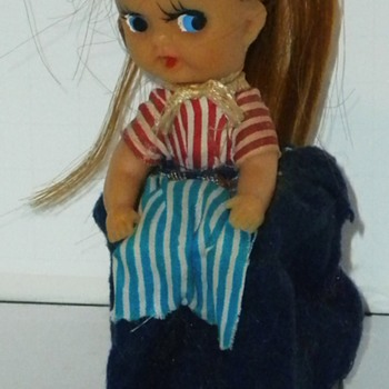 Vintage Wind-up Doll - Toys