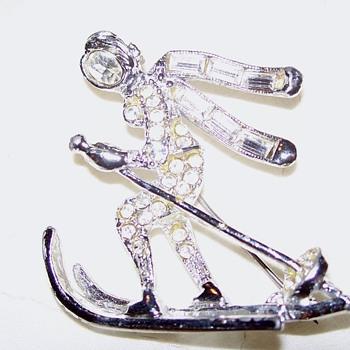 Skiing anyone? - Costume Jewelry