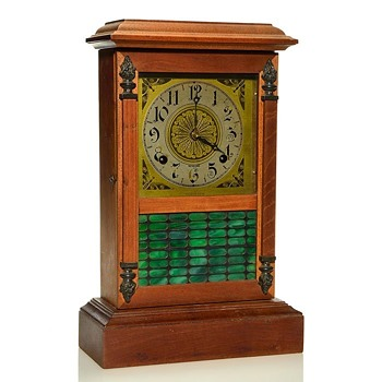 "Sessions ""Shop of the Crafters"" Mission-Style Mantel Clock - Clocks"
