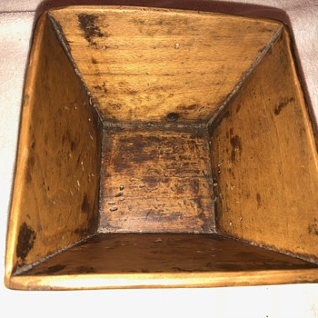 Old Wooden Bowl or Container? - Kitchen