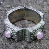 Vintage Portuguese Rose Quartz Bracelet