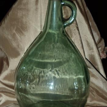 Gallon Green Bottle - Bottles