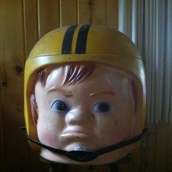 Football  helmet Toy chest - Football