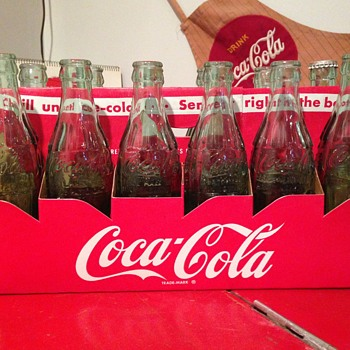 1950's Coca-Cola 12-pack Carrier - Coca-Cola