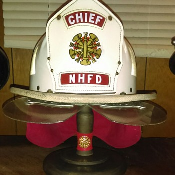 Chief fire helmet  North Haven New Hampshire - Firefighting