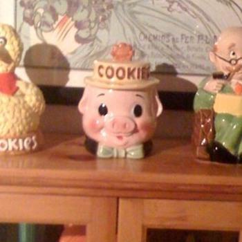 Pig Cookie Jar