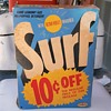Vintage Surf Laundry Detergent and It Is 10 Cents Off!