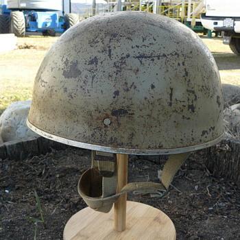 Israeli Mk II Airborne Helmet ( HSAT ) - Military and Wartime