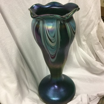 Rindskopf bohemian vase  - Art Glass