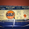 1930's GULFLUBE oil can.