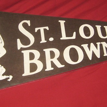 1950's St. Louis Browns Pennant