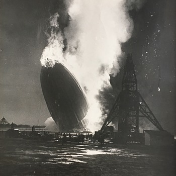 Zeppelin Hindenburg Disaster, 5/6/1937 - Advertising