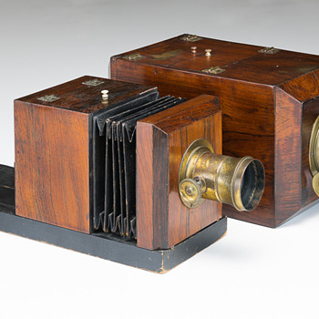 Two 1850s American Daguerreotype Cameras: An Important Design Transition - Cameras