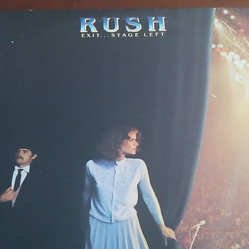 "Rush "" Exit...Stage Left"" - Records"
