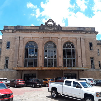 UNION STATION at Texarkana, Arkansas - Photographs