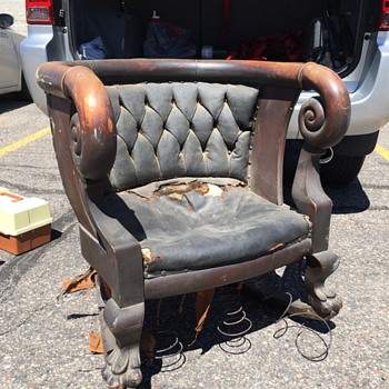 Rocking chair mystery - Furniture