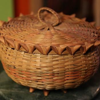 Penobscot Indian Basket - Furniture