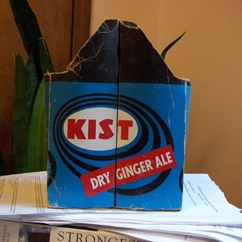 Kist Cardboard Carton Two Large Bottle Carrier