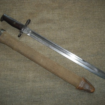 US Model 1905 Bayonet - Military and Wartime