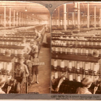 In a great spinning room - Photographs