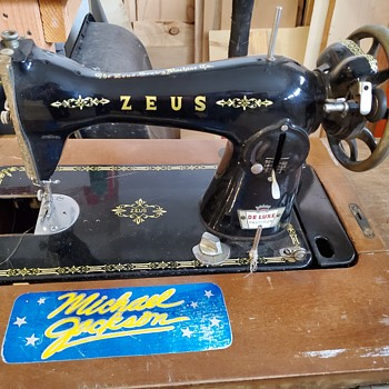 The Zeus Sewing Machine Co - Sewing