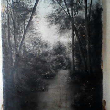 Any ideas on the artist  please  - Fine Art