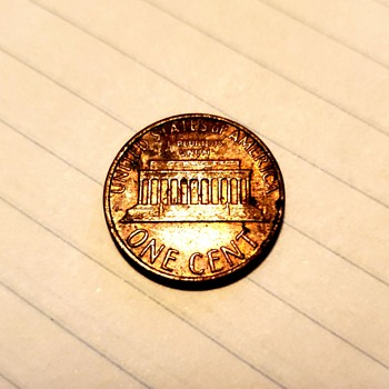 1980 Lincoln Cent - Mint damage? - US Coins
