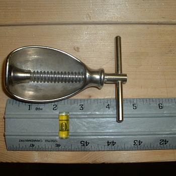 """Metal """"Nut"""" shaped nutcracker  - Kitchen"""
