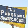 1950's restaurant sign still standing from a