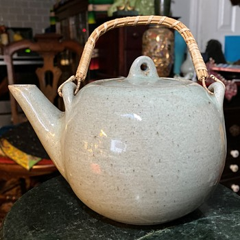 A Teapot Signed Bodia? - China and Dinnerware