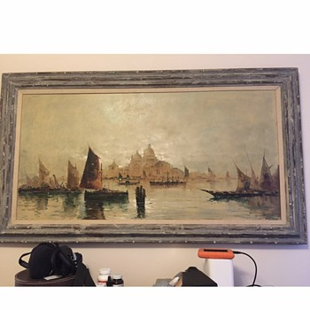 Oil Painting from Germany (?) - Fine Art
