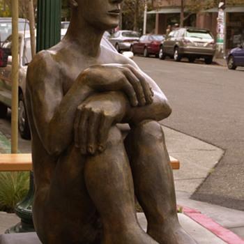 Mavis McClure bronze - Fine Art