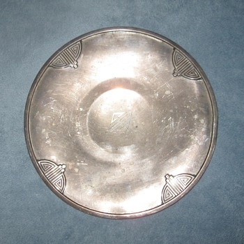 RW&S Sterling small serving plate - Silver