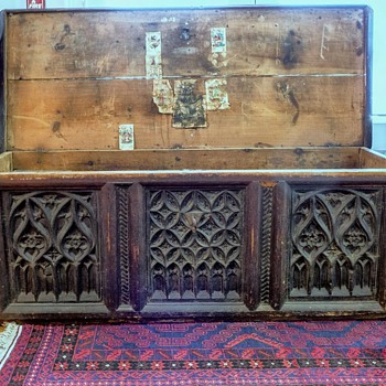 13th -14th Century German Trunk - Furniture