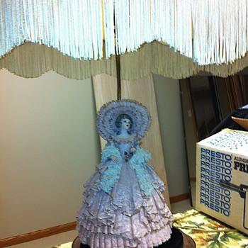 Glass blown Antique Lamps - Lamps