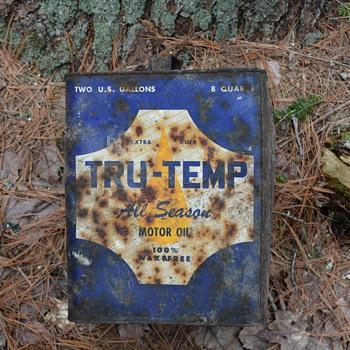 TruTemp Motor Oil Can - Petroliana