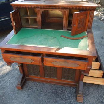 Captain's Desk - Furniture