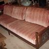 Malaysian Carved Teak Sofa