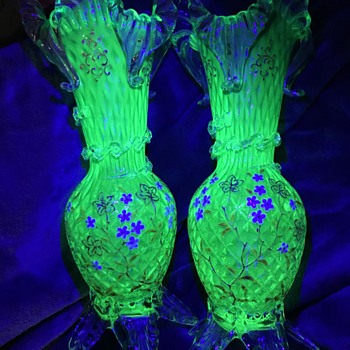 Unknown glass vases - Art Glass