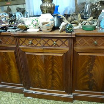 Antique Buffet Server - Furniture