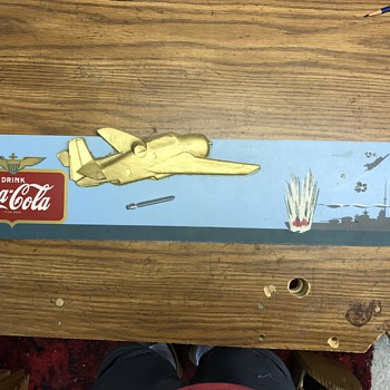 Military coke sign - Coca-Cola