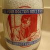 GATEWAY CREAMTOP MILK quart from JOPLIN MISSOURI....Health Slogan On Back..........