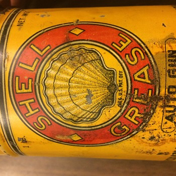 Shell / Roxana Grease Can - 1904-1909
