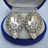 Weiss Rhinestone Jewelry - Earrings and Brooches
